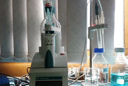Dissolved oxygen titrino