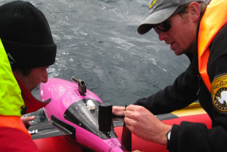 Profiling gliders are deployed in the coastal regions of South Africa and the Southern Ocean to observe key physical and biogeochemical properties of the water column.Compared to ships and moorings, these innovative and high-tech robots provide a cost-effective means to monitor the environment over extended paeriods of time.