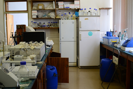 Flow injection autoanalyser fluorometer