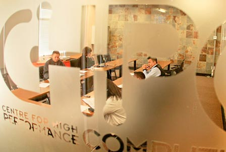 The CHPC boardroom