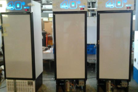 Figure 6: Three incubators for growing phytoplankton community at sea under different dFe supply and light regimes (Bioassay experiments).