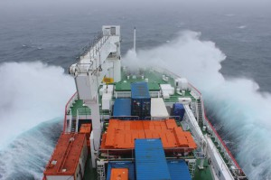 SANAE 53: SA Agulhas 2 heading into the Southern Ocean