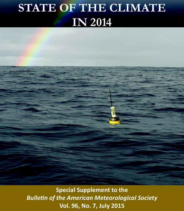 BAMS Sate of the Climate 2014 cover